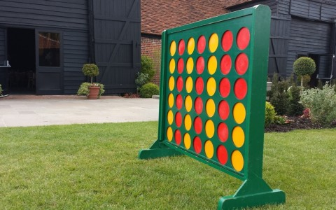 Giant Garden Games for Hire - Connect 4