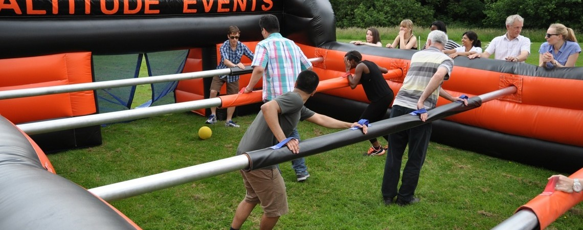 Human Table Football Altitude Events