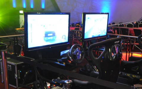 Multiplayer Racing Simulator Hire