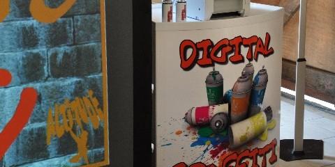 Digital Graffiti Wall Hire and Rental