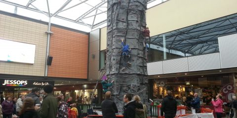 Basingstoke Shopping Centre Climbing Wall