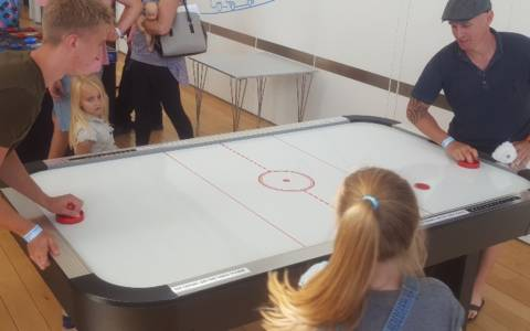 Air Hockey Hire and Rental
