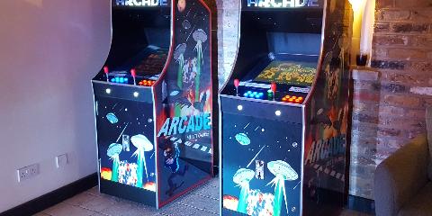 Arcade Games Machine Hire and Rental