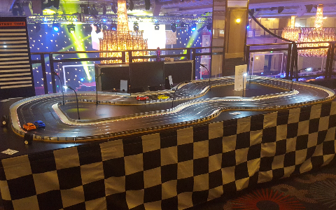 Giant Scalextric Hire and Rental