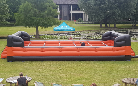 Human Table Football Hire and Rental