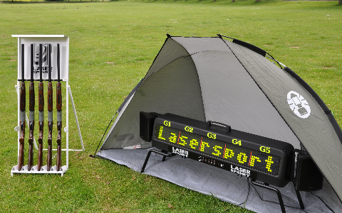 Laser Clay Pigeon Shooting Hire and Rental