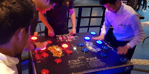 Strike-A-Light Reaction Test Game Hire and Rental