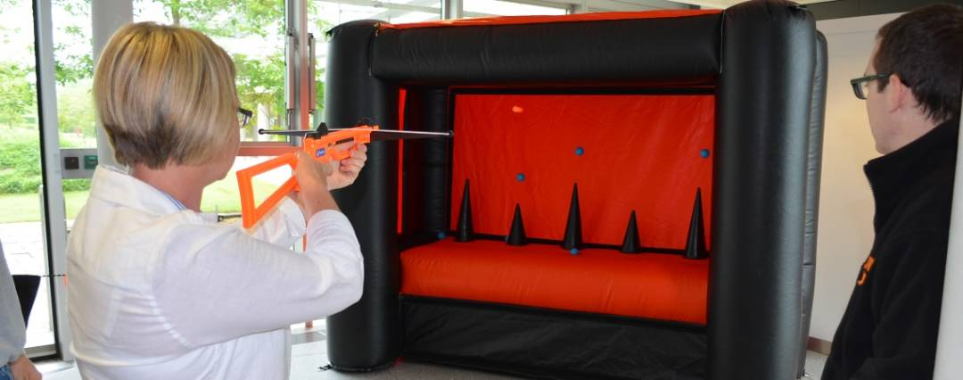 Hoverball Shooting Gallery Altitude Events